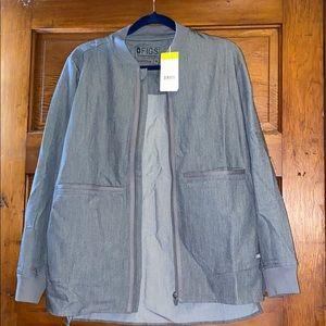 Figs scrub jacket - graphite M
